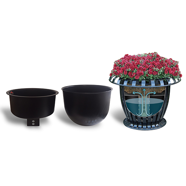 Commercial Planters - EarthPlanter Drop and Grow Self-Watering Insert